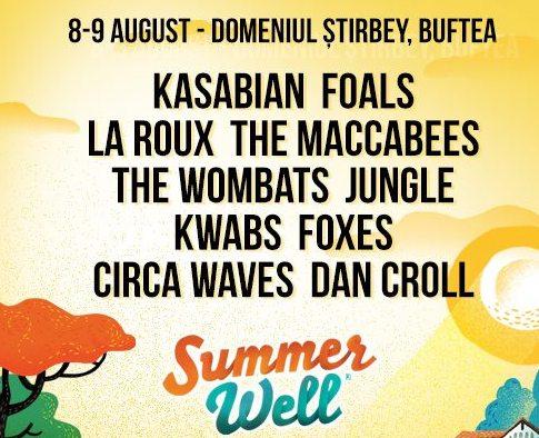 Kasabian la Summer Well Buftea 2015!