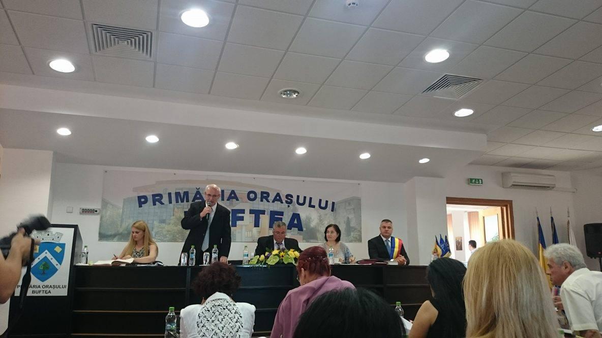 De la sedinta Consiliului Local Buftea - 29.07.2016