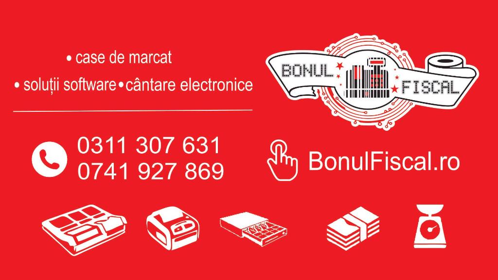 Deschis in Buftea! Magazin și service pentru noile case de marcat cu jurnal electronic!