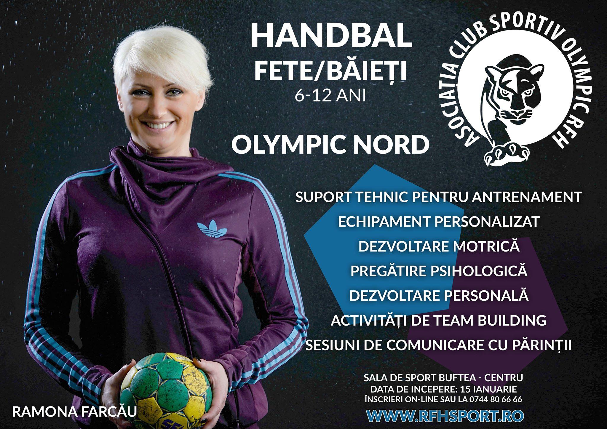 Un psiholog sportiv și o fostă mare handbalistă deschid un club de handbal  pentru copii la Buftea