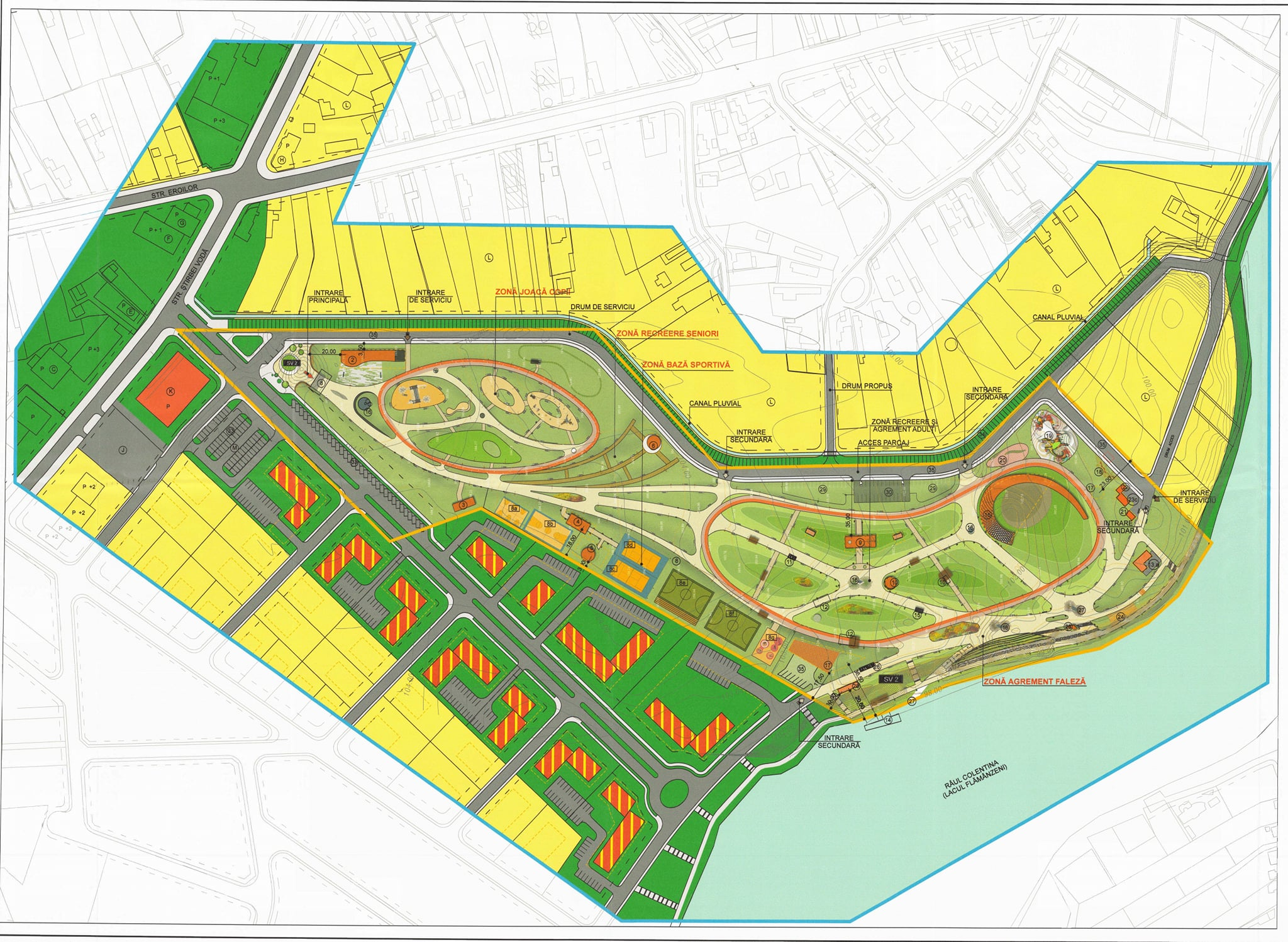 Cum va arăta viitorul parc din Pepinieră!